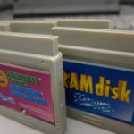 The RAMdisk was 128 MB and could be formatted as ProDOS or DOS 3.3 to save your typed-in programs or AppleWorks documents.