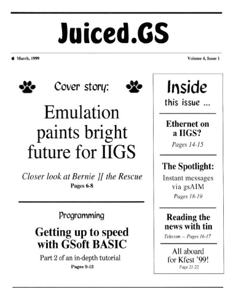 Juiced.GS Volume 4, Issue 1 (March 1999)