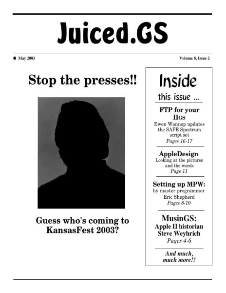 Volume 8, Issue 2 (May 2003)