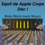 Esprit de Apple Corp CD 1 label