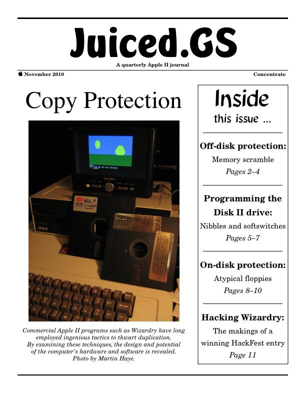 Juiced.GS Concentrate: Copy Protection